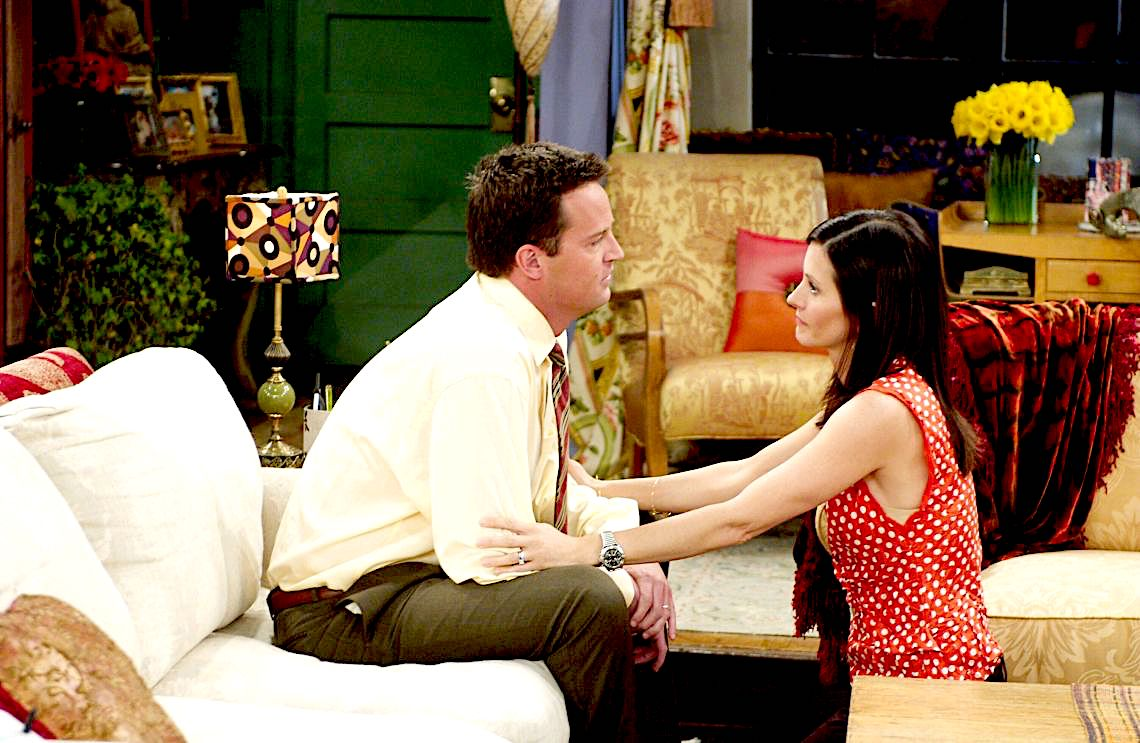 Chandler Bing Monica Geller